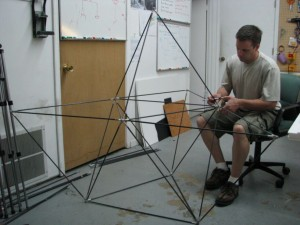 Anthony and a High Rack frame.
